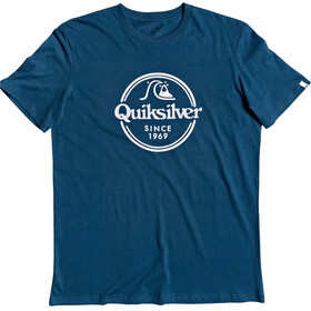 Quiksilver Words Remain SS Tee Men majolica blue